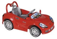 Red toy car Stock Image