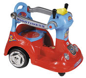 Red toy car Royalty Free Stock Photo