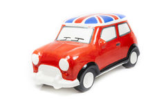 Red toy car Royalty Free Stock Photos