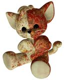 Red toy cat Royalty Free Stock Photos