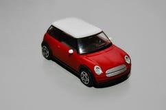 Red toy mini car Royalty Free Stock Photos