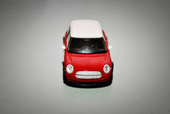 Red toy mini car Royalty Free Stock Photo