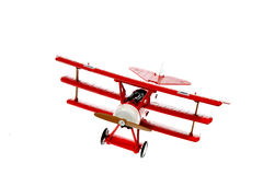 Red Toy Plane Royalty Free Stock Images