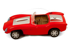 Red toy racing car Royalty Free Stock Image