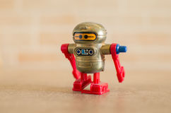 Robotic old fashioned Stock Image