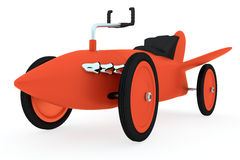 Red toy rocket-car Royalty Free Stock Photography