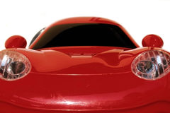 Red toy sports car Royalty Free Stock Images