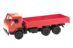 Red toy truck Stock Images