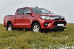 Toyota Hilux Royalty Free Stock Image