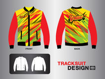 Red tracksuit vector design vector Royalty Free Stock Photography