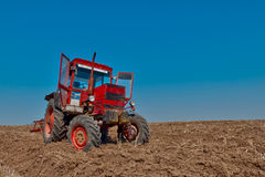 Free Red Tractor Stock Photos - 23983533