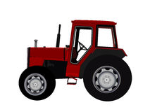 A red Tractor Stock Photography
