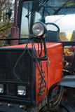 Red tractor. Stock Image
