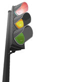 Red Traffic Light Stock Image