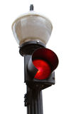 Red traffic light Royalty Free Stock Image