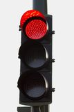 Red traffic light. A red traffic light with clear background Stock Image