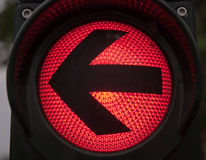 Red traffic light Royalty Free Stock Photography