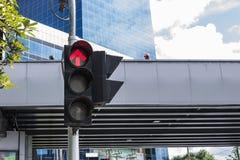 Red traffic light Stock Image