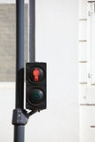 Red traffic lights Royalty Free Stock Photography