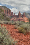 A red trail near Sedona Stock Photos