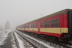 Red train Stock Photos