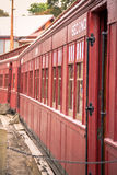 Red Train Carriage Royalty Free Stock Photography