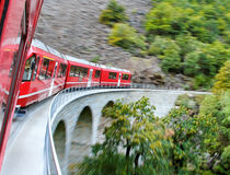 Red train. stock photography