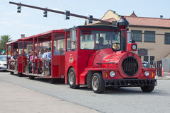 Red Train Tours Stock Photography
