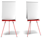 Red training flipchart Stock Images
