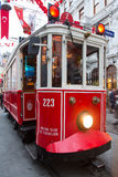 Red Tram Royalty Free Stock Photos