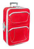 Red travel case Stock Photo