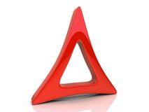 Red triangle Stock Photos
