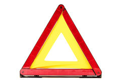 Red triangle Royalty Free Stock Photo