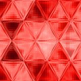 Red triangle background with gauze. Red triangle gradient background with gauze Royalty Free Stock Photos