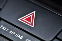 Red triangle Stock Image