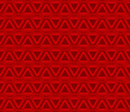 Red triangles. Royalty Free Stock Photos