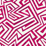 Red tribal seamless pattern Stock Photography