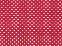 Red tricot  fabric Royalty Free Stock Images