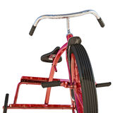 Red tricycle Stock Images