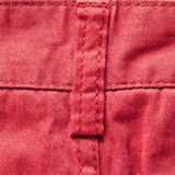 Red trousers Stock Images