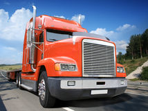 Free Red Truck Stock Image - 11494381