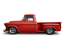 Red truck Royalty Free Stock Photo