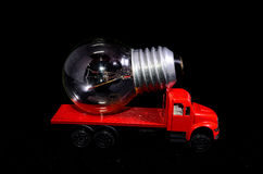 Red Truck Light Bulb Stock Photos