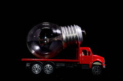 Red Truck Light Bulb Stock Images