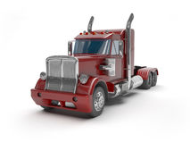 Red trucks Royalty Free Stock Photo