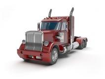 Red trucks Royalty Free Stock Photo