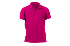 Red Tshirt Template Royalty Free Stock Photo