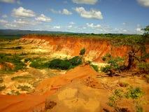 Red tsingy royalty free stock image