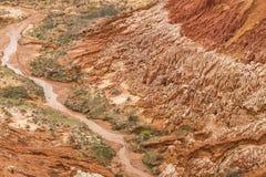 Red Tsingy landscape in Antsiranana, Madagascar Stock Photos