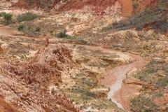 Red Tsingy landscape in Antsiranana, Madagascar Royalty Free Stock Photography